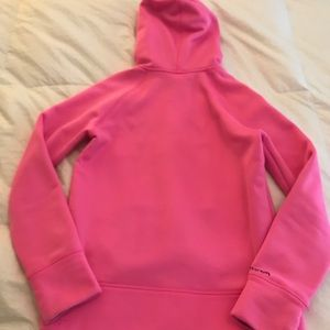 Under Armour Shirts & Tops - Under Armour Hoodie Sweatshirt in Pink
